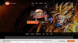 BANDAI NAMCO Entertainment America   Games   DRAGON BALL ...