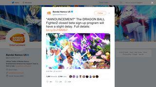 Bandai Namco US on Twitter: