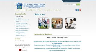 Child Care   Florida Department of Children and Families