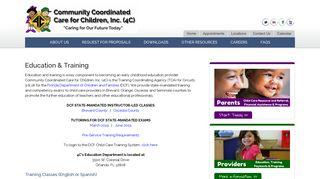 Education & Training - 4C