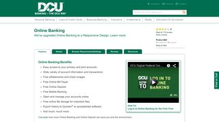 Online Banking | DCU |Massachusetts | New Hampshire