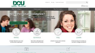 Digital Federal Credit Union: Home Page
