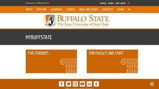 MYBUFFSTATE | SUNY Buffalo State