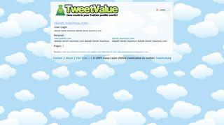 tienet.maximus.com - User Login. - TweetValue