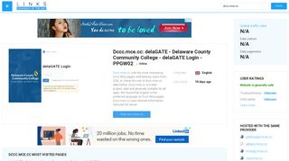 Visit Dccc.mce.cc - DelaGATE - Delaware County Community College ...