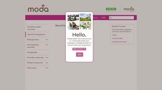 Benefits and eligibility - Moda Health