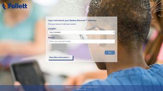 Destiny Discover | Follett School Solutions | School Picker