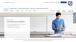 International Students – Deutsche Bank Privatkunden