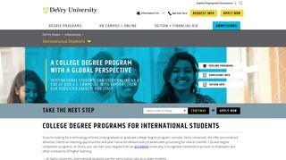 DeVry University: Online & On Campus College Degree Programs ...