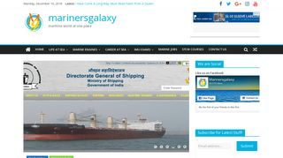 DG Shipping Master Checker | marinersgalaxy