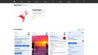 DialAFlight on the App Store - iTunes - Apple