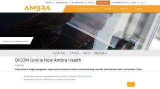 DICOM Grid is Now Ambra Health | Ambra Health