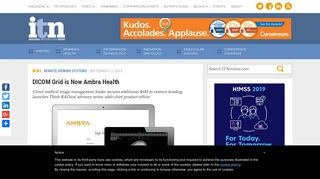 DICOM Grid is Now Ambra Health | Imaging Technology News