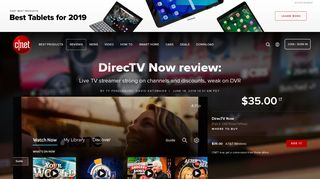 DirecTV Now review: Live TV streamer strong on channels and ... - Cnet