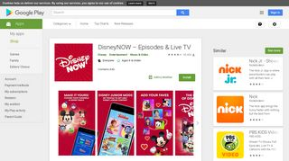 DisneyNOW – TV Shows & Games - Apps on Google Play
