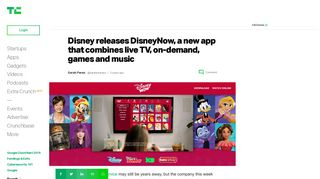 Disney releases DisneyNow, a new app that combines live TV, on ...