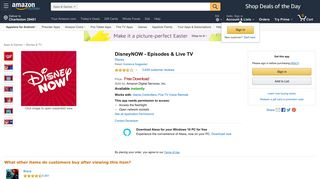 DisneyNOW – Shows & Live TV,Disney - Amazon.com