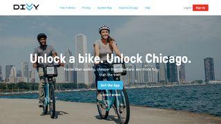 Divvy: Chicago's Bike share Program   Divvy Bikes