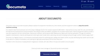 About Documoto | Online Parts Catalogs for Manufacturers