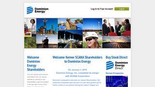 Welcome Dominion Shareholders