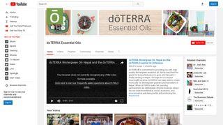 doTERRA Essential Oils - YouTube