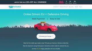 Aceable: Drivers Ed & Defensive Driving Mobile App