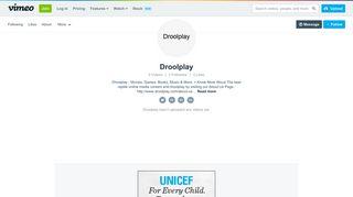 Droolplay on Vimeo