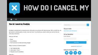 How do I cancel my Droolplay - HowDoICancelMy.com