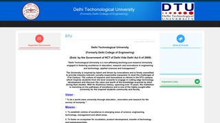 dtu admission