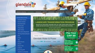Glendale Water & Power   City of Glendale, CA