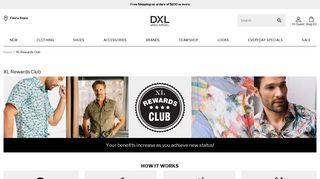 XL Rewards Club | DXL