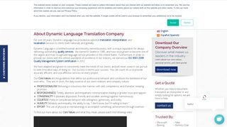 About Us   Dynamic Language