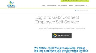Employee Login - Group Management Services