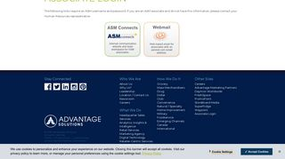 Associate Login - Advantage Solutions