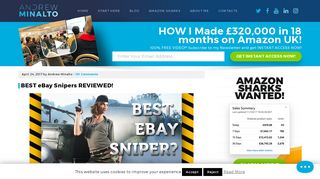 BEST eBay Snipers REVIEWED! - Andrew Minalto