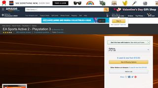 Amazon.com: EA Sports Active 2 - Playstation 3: Video Games