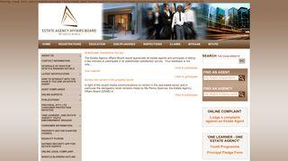 | EAAB - The Estate Agency Affairs Board