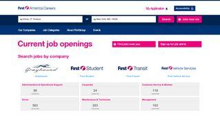 Careers: FirstAmerica