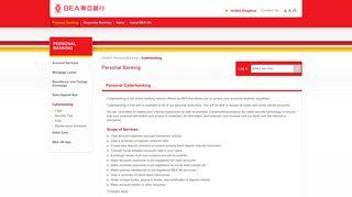 Cyberbanking - About BEA UK