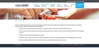 Portal Devices | Eastern Health