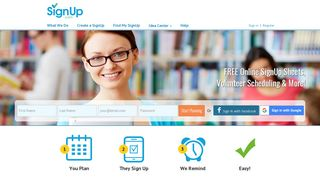 Free online SignUp sheets, volunteer scheduling software , and ...