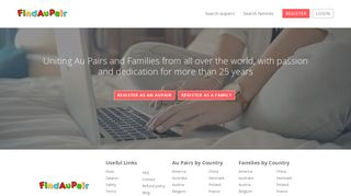 Find Au Pair | Find your Au pair or host family here
