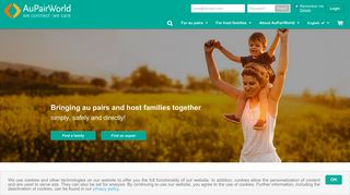 AuPairWorld: Find your au pair or host family with the market leader!