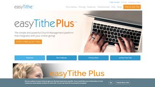 Church Management Software by easyTithe