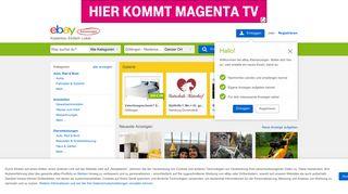 eBay Kleinanzeigen Göttingen: Kostenlose Kleinanzeigen in ...