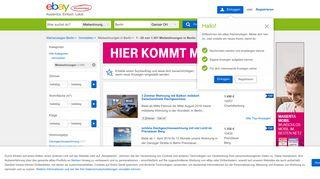 Mietwohnung in Berlin   eBay Kleinanzeigen