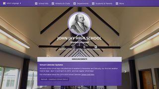 John Jay High School: Home