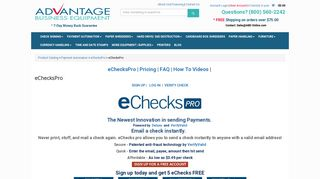 Paperless Checks | Speed of an Email with the Ease of a Check | ABE ...