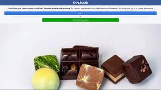 Ecole Chocolat Professional School of Chocolate Arts - Home ...