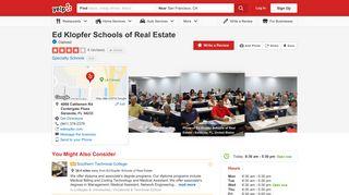 Ed Klopfer Schools of Real Estate - Specialty Schools - 4068 ...
